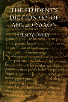 The Student's Dictionary of Anglo-Saxon cover